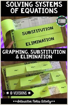 Systems by Substitution Color by Number Worksheet Answers Key