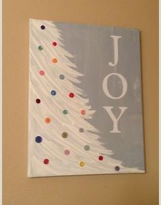 Things to Paint for Christmas Easy