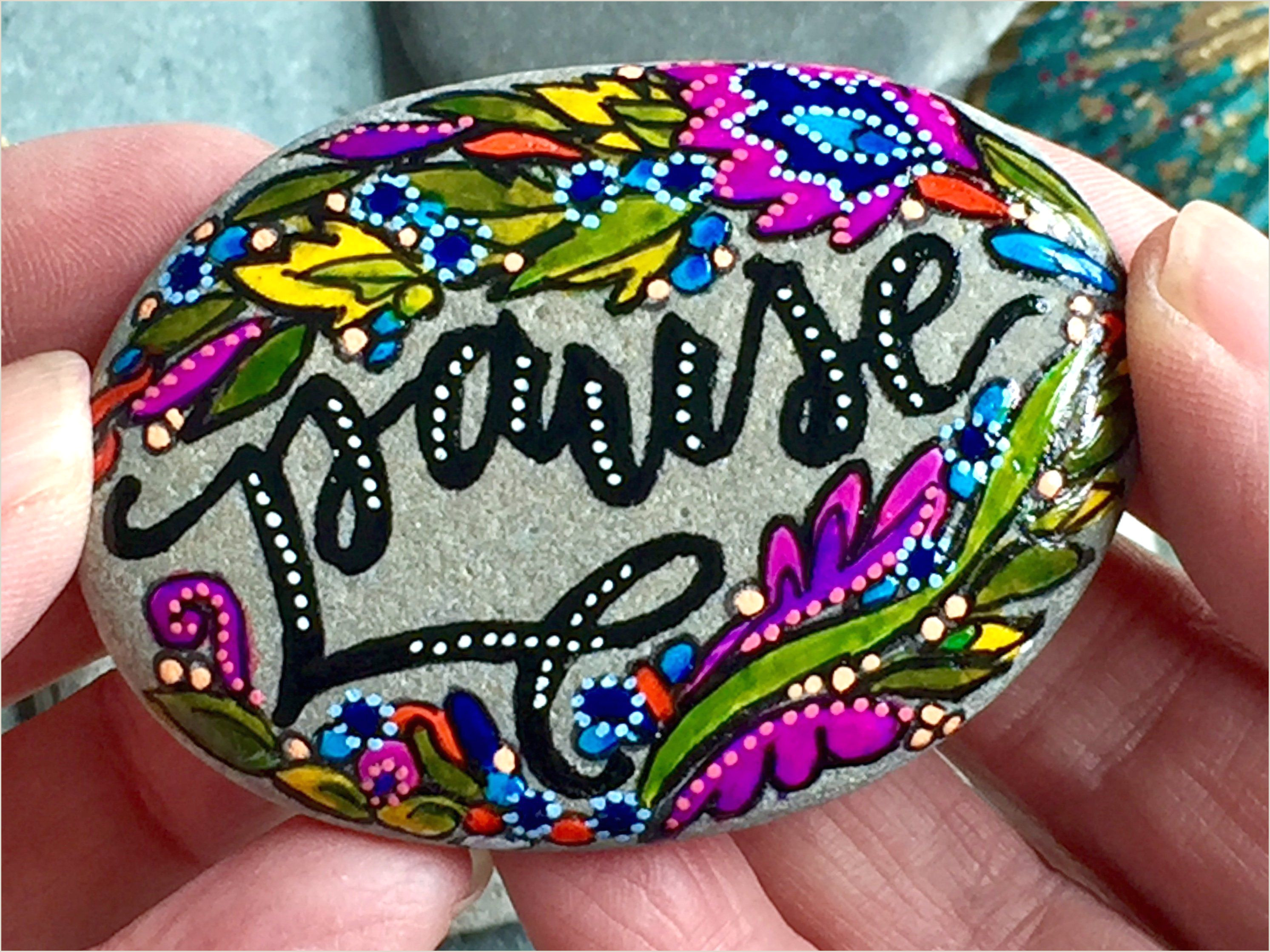 Things To Paint On Rocks Easy