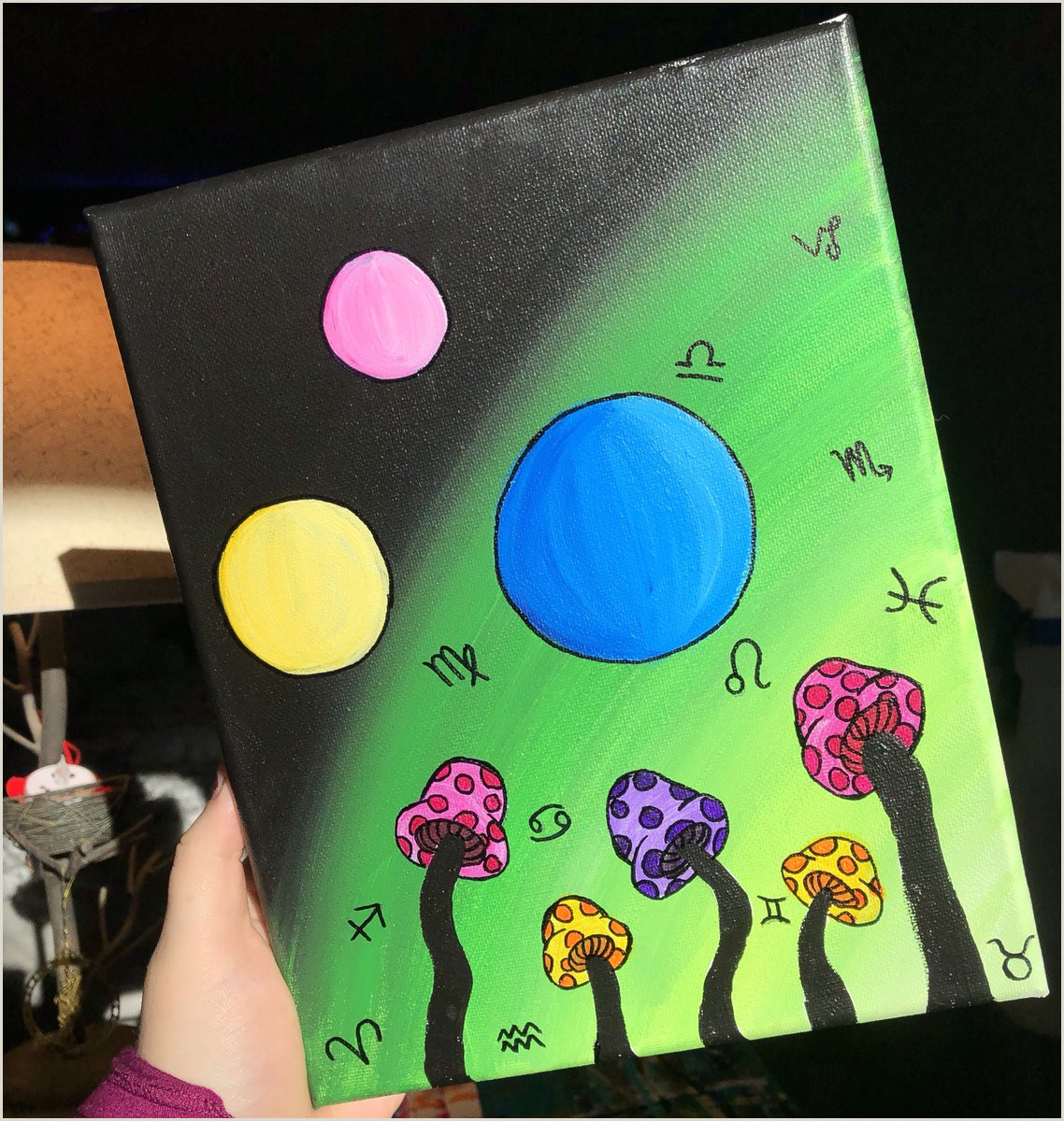 Trippy Things To Paint Easy