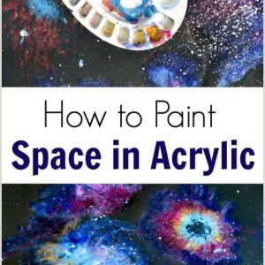 What to Paint Easy Acrylic