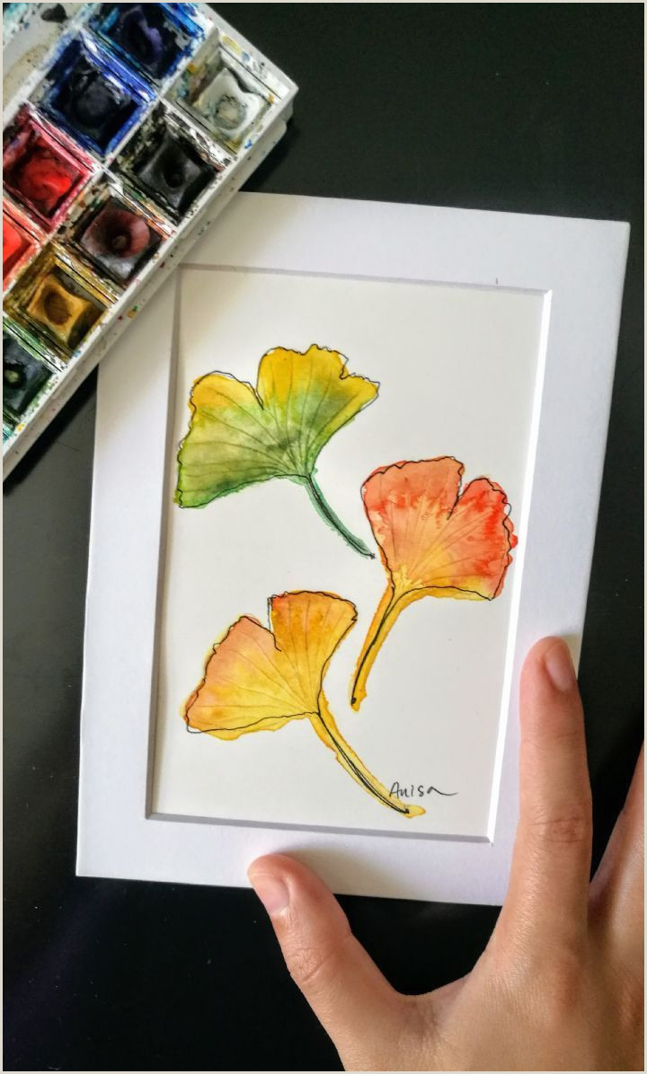 What To Paint Easy Watercolor
