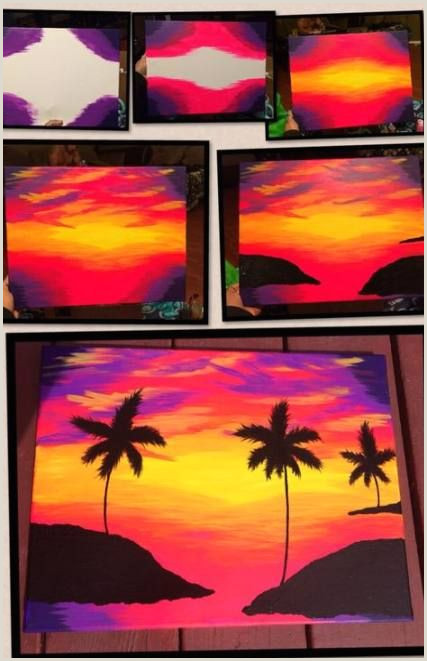 What To Paint On Canvas Easy