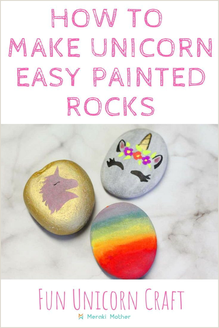 What To Paint On Rocks Easy
