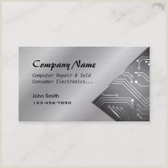 100 Best Business Cards 100 Best Puter Repair Business Cards Images In 2020