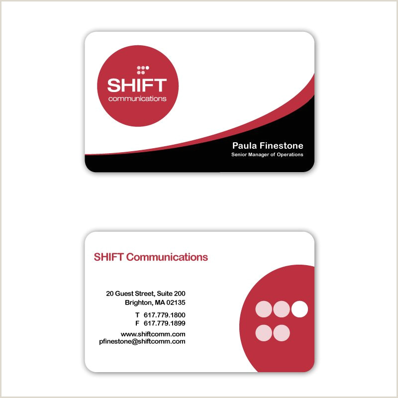 100 Business Cards Price Crowdspring Business Card