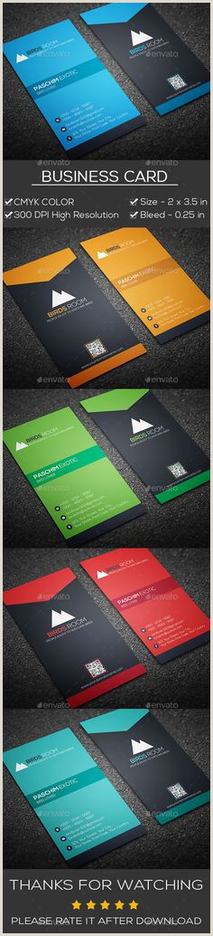 2 Color Business Cards 100 Best Business Card Images