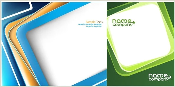 2 Color Business Cards 2 Color Business Card Free Vector 52 375 Free
