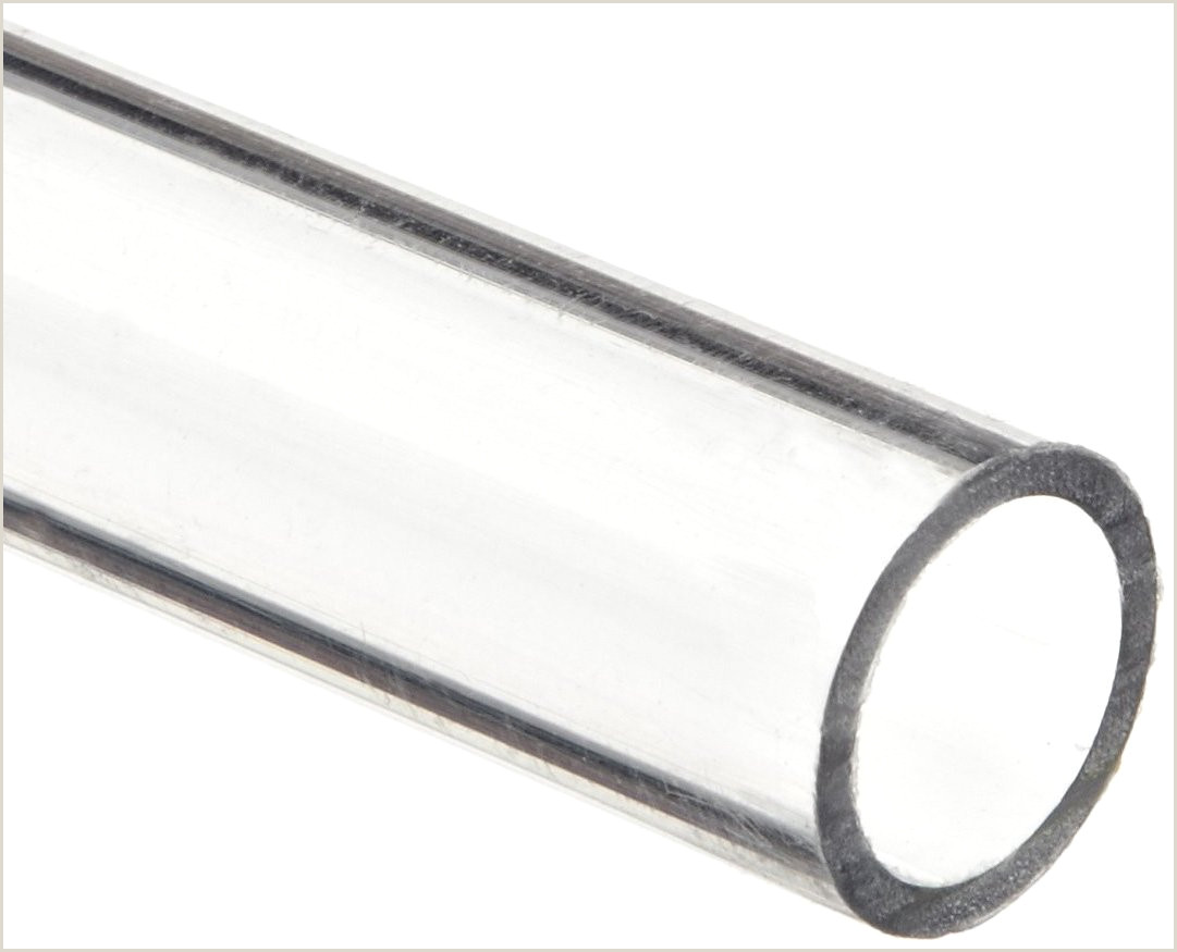 """2 Color Business Cards Polycarbonate Tubing 1 2"""" Id X 5 8"""" Od X 1 16"""" Wall Clear Color 24"""" L"""