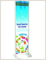 3 Sided Banner Stand 3 Sided Banner