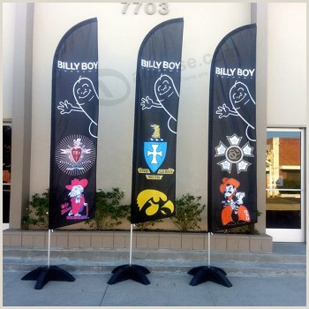 3 Sided Banner Stand Outdoor Advertising Pole Flying Banner Stand Wholesale Buy
