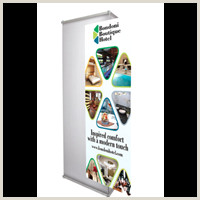 3 Sided Banner Stand Three Sided Banner Popups