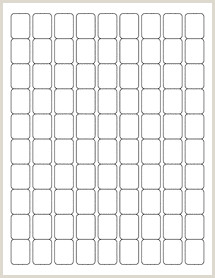 """33 Up Labels Template 0 75"""" X 1"""" Blank Label Template Ol28"""