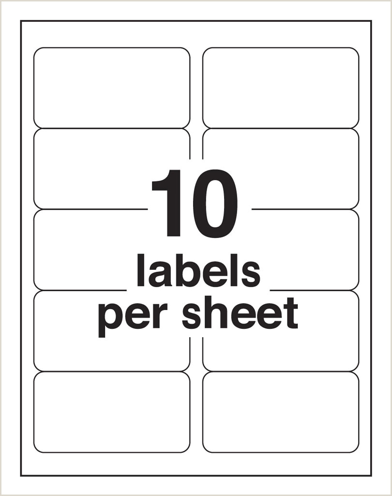 33 Up Labels Template 10 Up Blank Shipping Labels Avery 8163 Template