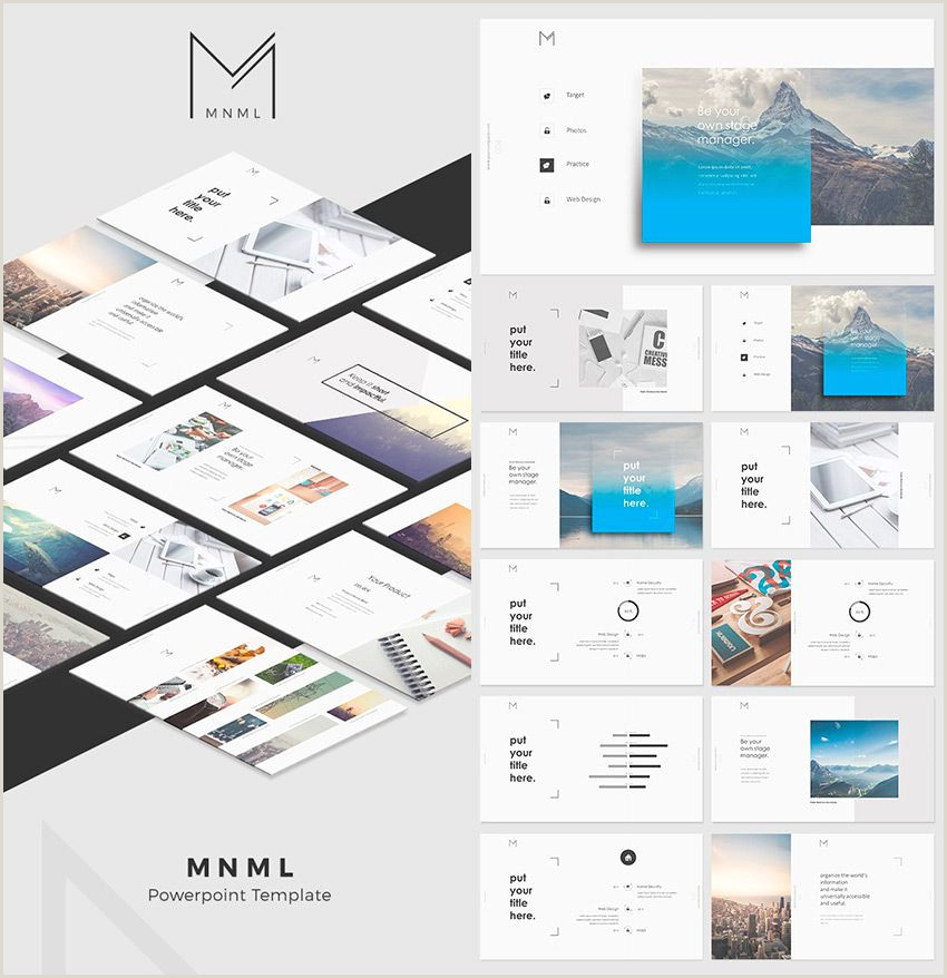 33 Up Labels Template Mnml Cool Powerpoint Template Designs Powerpoint