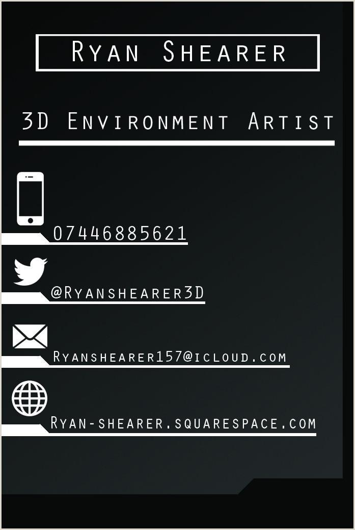 3d Artist Business Cards Image Result For 3d Artist Business Card