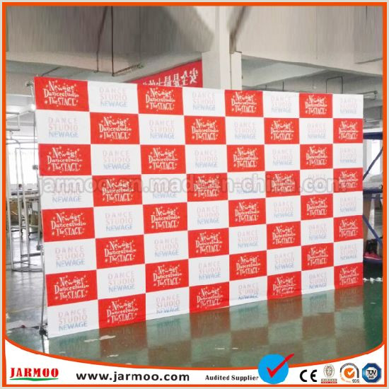 3×3 Pop Up Banner China 3×3 Curved Pop Up Display For Show China Popup