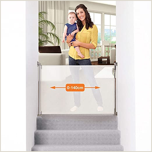 6ft Retractable Baby Gate Dreambaby Retractable Gate White 0 To 140cm Extra Tall Relocatable Mesh Safety Gate Narrow To Extra Wide Baby & Dog Pet Stair Gate For Doorways