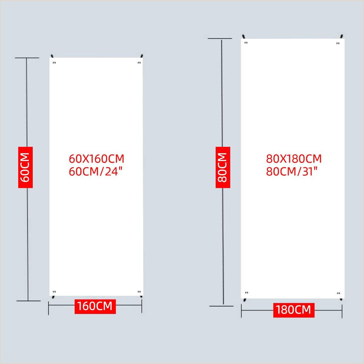 A Frame Banner Stand 60 160cm 80 180cm Iron Frame Poster Display Banner Stand Kit Floor Standing Frame Label Sign Billboard Rack Trade Show