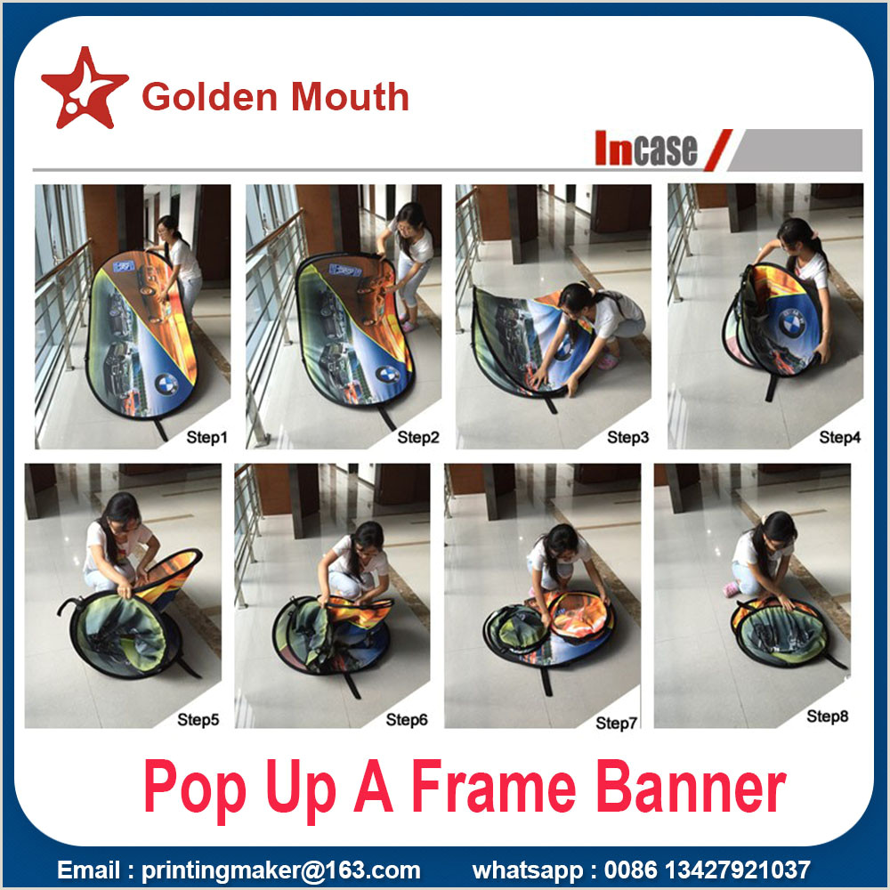 A Frame Banner Stand China Manufacturer Of Pop Up Display Pop Up Banner Stand