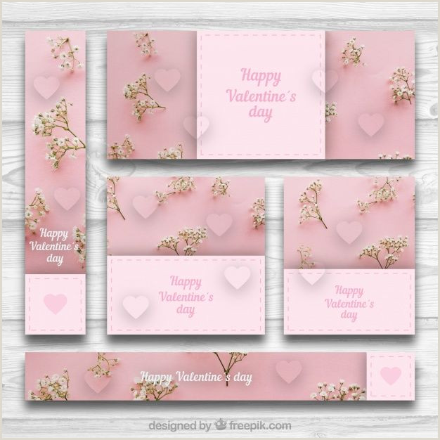 A Frame Banner Stand Download Pink Collection Banners And Cards For Valentine
