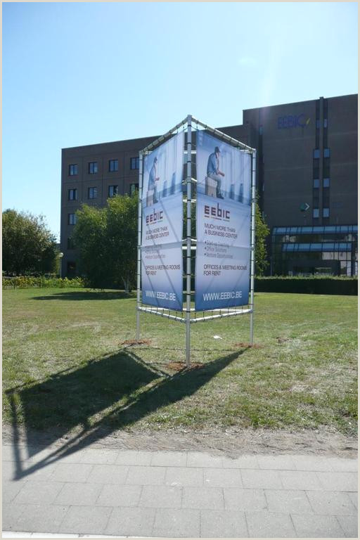 A Frame Banner Stand Stand Alone Banner Frame Declercq Nv