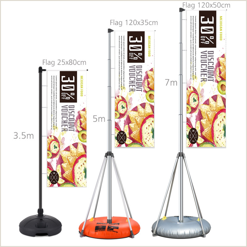 A Frame Banner Stands Outdoor Advertising Screens Line Shopping