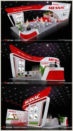 Advertising Display Stands 80 Best Curves Exhibit Stand Images