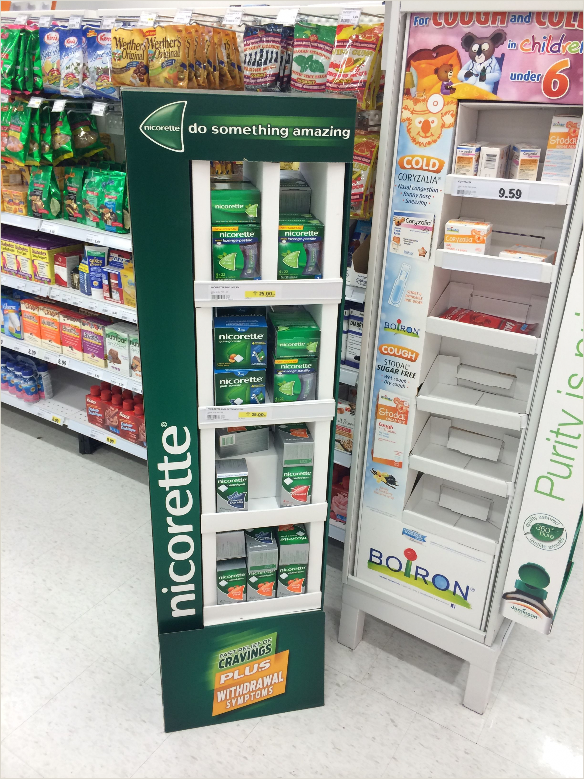 Advertising Display Stands Marketing Floor Stand