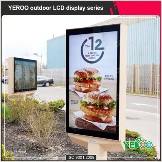 Advertising Stands Outdoor Advertising Stand Outdoor Display Kiosk Supplier