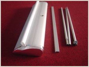 Aluminum Banner Stand Broad Base Newly Aluminum Retractable Roll Up Poster Banner Stand