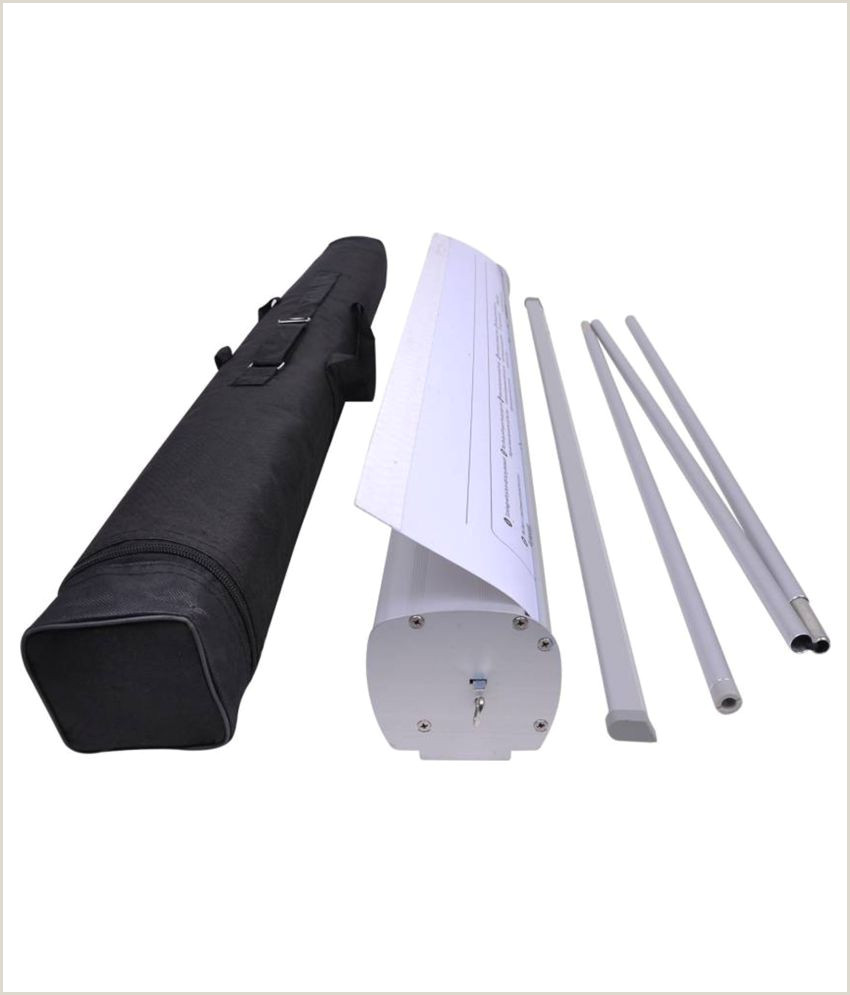 Aluminum Banner Stand Eweft Roll Up Standee 6 2 F With Bag Buy Line At Best