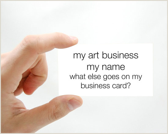 Artist Business Cards Examples Business Cards For Artists Art Business Info For Artists