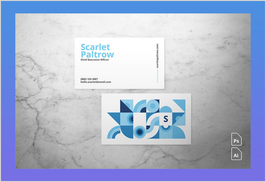 Artist With Unique Business Cards 20 Best Artistic Business Card Designs For Creatives