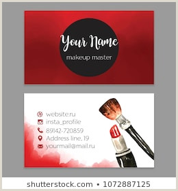 Artist With Unique Business Cards Artist Business Card Stock S & Vectors