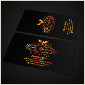 Artist With Unique Business Cards Artist Business Cards