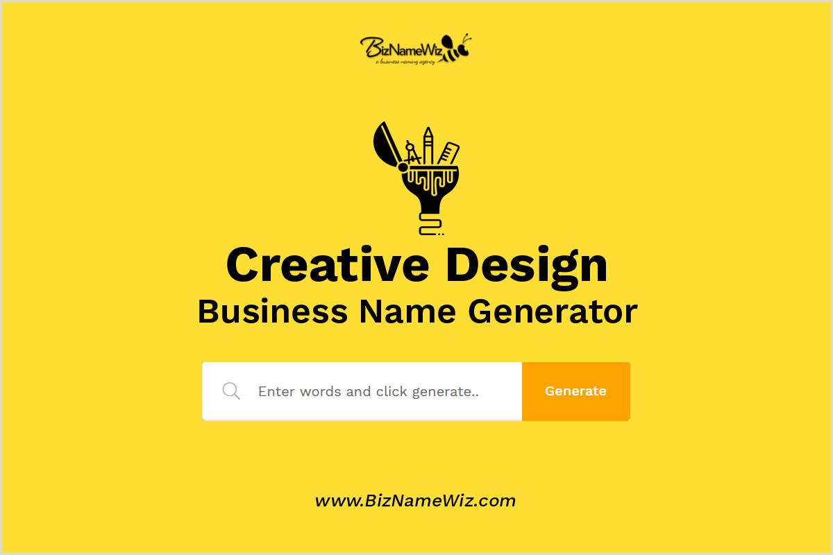 Attractive Names For Design Studio 1 000 Creative Design Business Name Ideas Availability Check