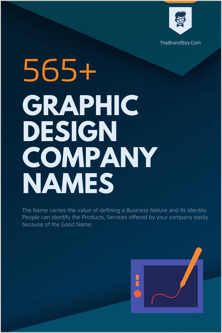 Attractive Names For Design Studio 493 Creative Graphic Design Pany Names Video Infographic