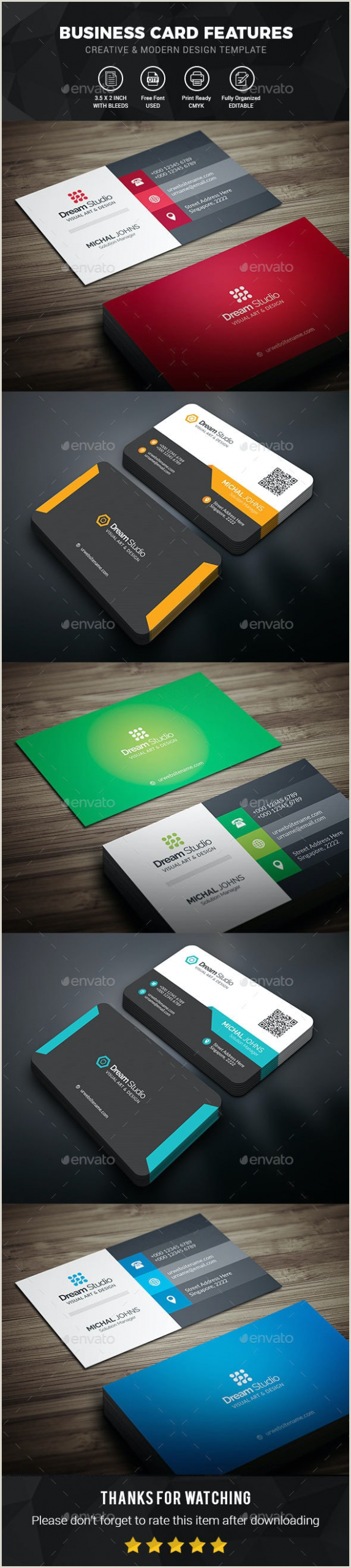 Awesome Business Card Ideas 7 Best Stationery & Design Templates For November 2019
