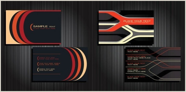Background Business Card Abstract Background For Your Business Card Free Vector