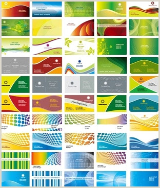 Background Design For Business Cards Business Card Background Vector Free Free Vector
