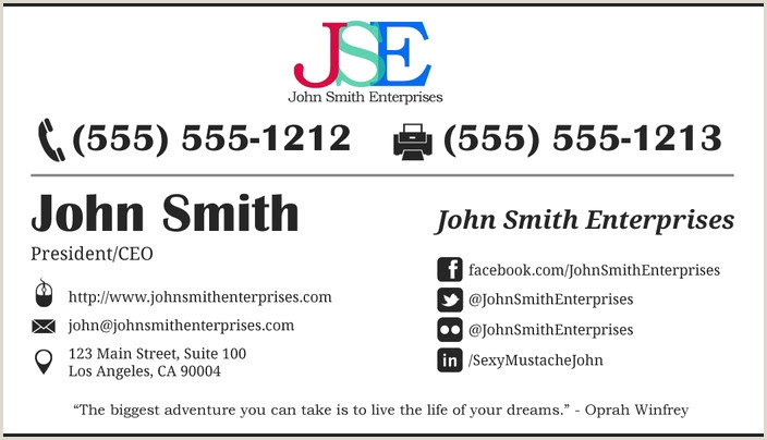 Bad Business Cards Business Card Printers