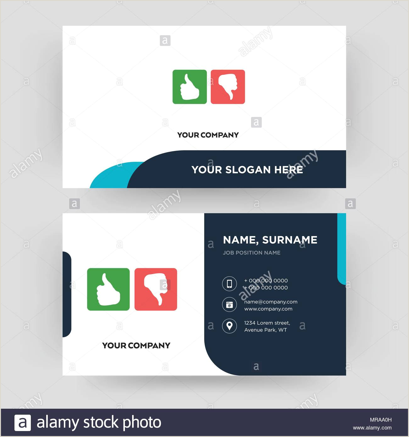 Bad Business Cards Good Bad Business Card Design Template Visiting For Your