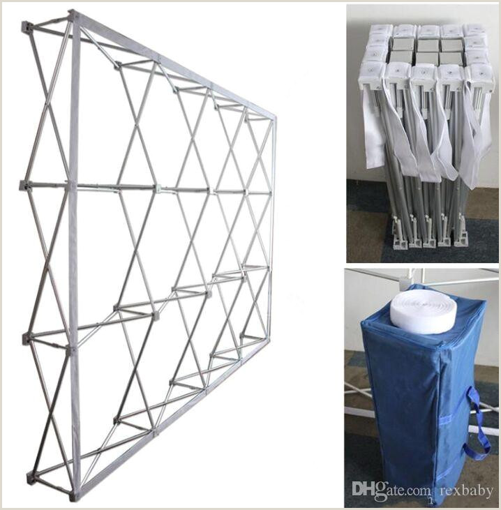 Banner Frame Stand 2020 Aluminum Flower Wall Folding Stand Frame For Wedding Backdrops Straight Banner Exhibition Display Stand Trade Advertising Show From Rexbaby