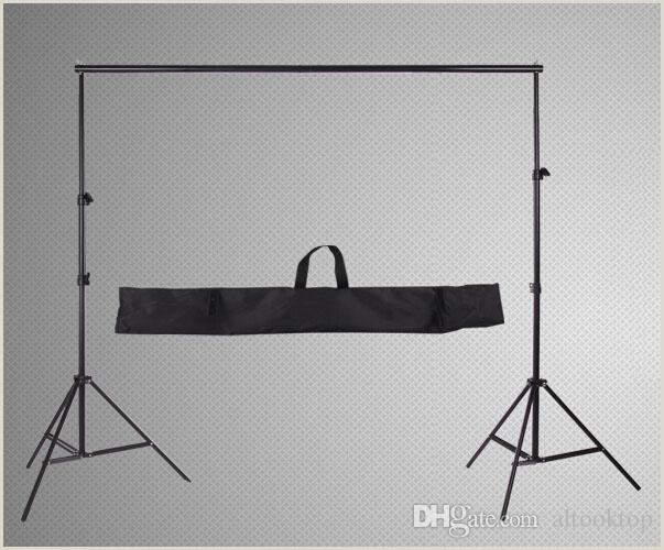 Banner Frame Stand 2020 Wholesale 2m 2m 6 5ft 6 5ft 2m Professinal Graphy Backdrop Background Support System Frame Fotografia Stands Studio Carry Bag From