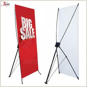 Banner Frame Stand Advertising X Frame Banner Stand Advertising X Frame Banner
