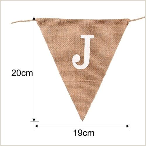 Banner Holders Outdoor Banners Bunting & Garlands Vintage Jute Hessian Burlap