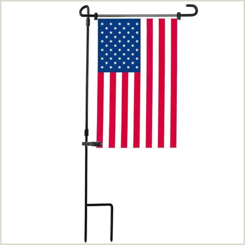Banner Holders Outdoor Garden Iron Flag Pole Outdoor Yard Flags Stand Holder Banner Bracket Stoppers Vova