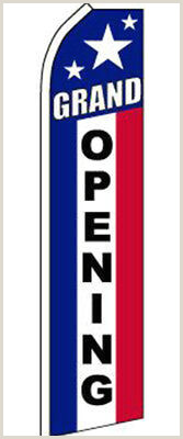 "Banner Holders Outdoor Home & Garden Flags ""grand Opening"" Super Flag Swooper"