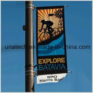 Banner Holders Outdoor Street Outdoor Light Pole Advertising Flag Media Ads Banner Holder Kit